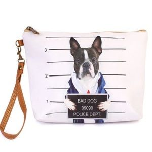Everyday Dog Mom Bags - NEW! 3 FOR $25 • Zippered Boston Terrier Bag